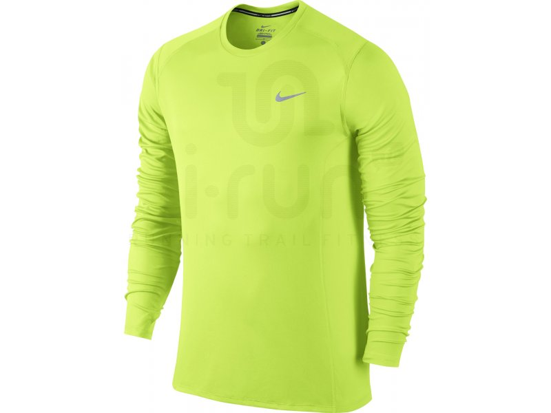 tshirt manches longues de running homme new balance