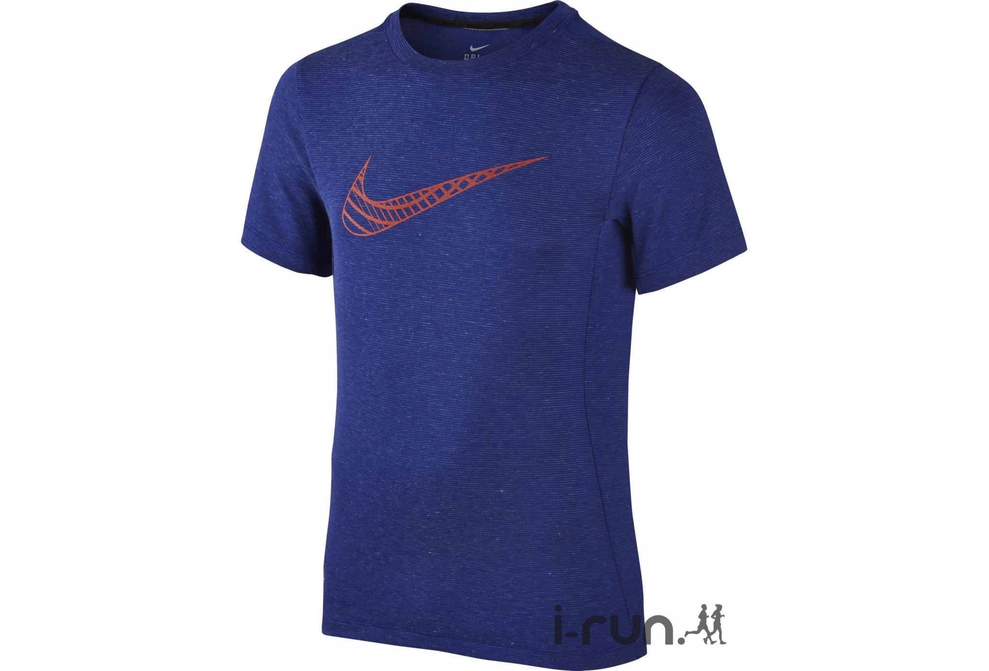 Nike Tee-Shirt Dry Junior vêtement running homme