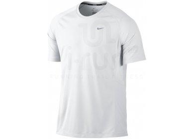 Nike Tee Shirt Miller UV M pas cher Vêtements homme running