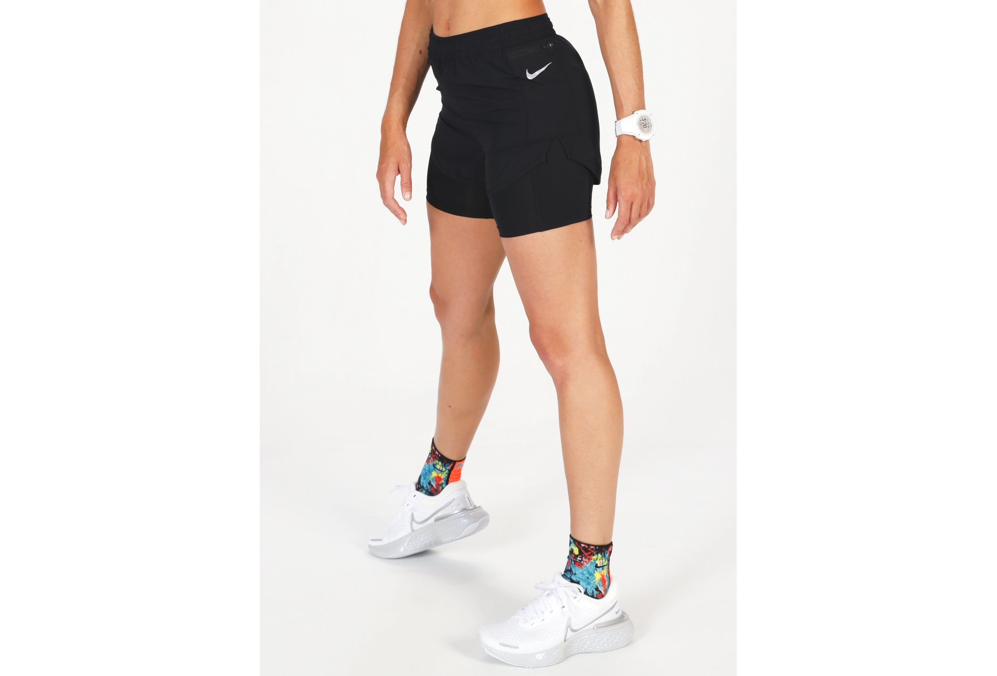 Nike Tempo Luxe 2 in 1 W vêtement running femme