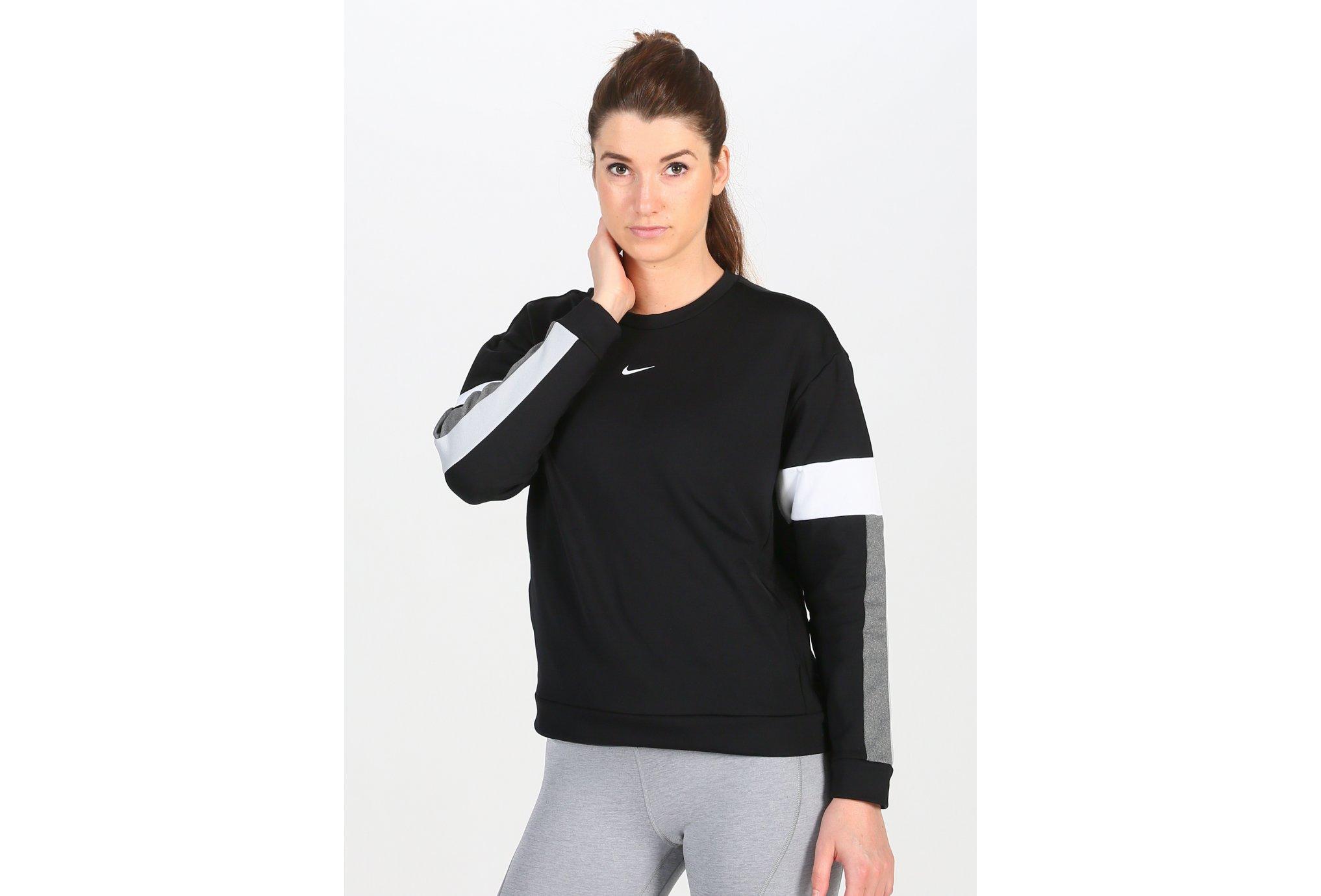 Nike Therma Colorblock Crew W Diététique Vêtements femme