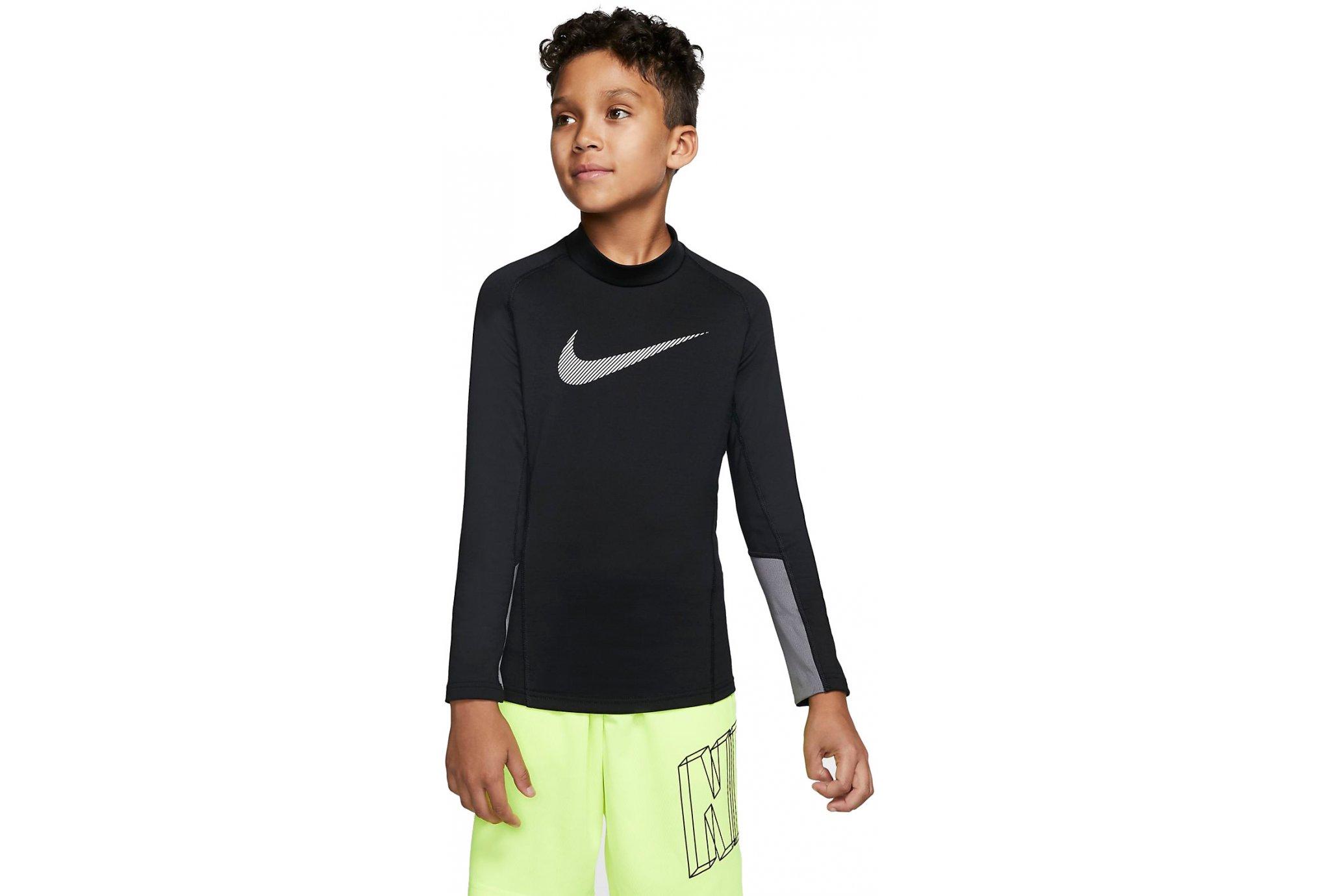 Nike Therma Mock Junior vêtement running homme