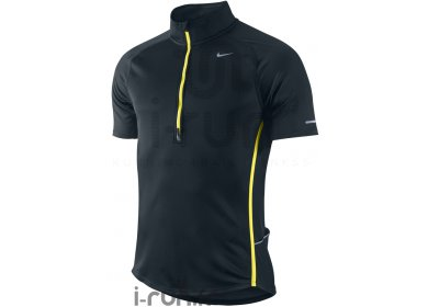 Nike TS 1/2 Zip Sphère Réact Noir