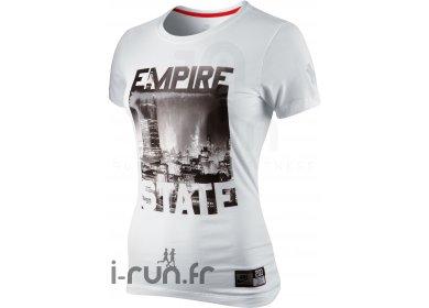 Nike TS Empire State Blanc W