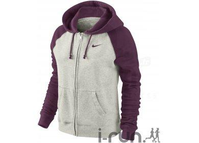 98eca84ce8c51 Nike Veste capuche Rally FZ Solid W femme pas cher