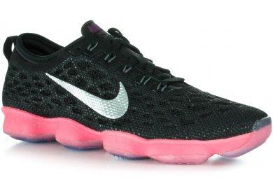 b24e10fb6ef6 Nike Zoom Fit Agility W femme Noir pas cher