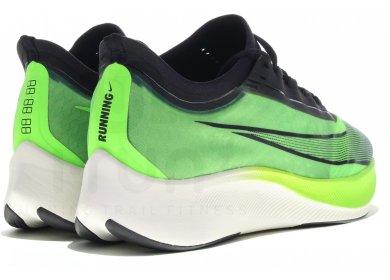 Nike Zoom Fly 3 M homme Vert pas cher