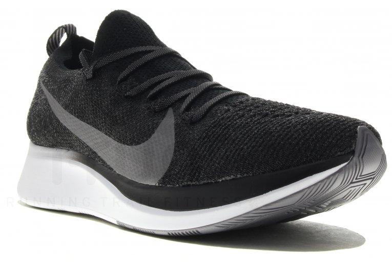 Zapatillas Nike Zoom Fly Flyknit CremaNegroCarmesí Brillante