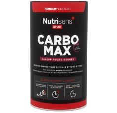 Nutrisens Sport CarboMax 750g - Fruits rouges