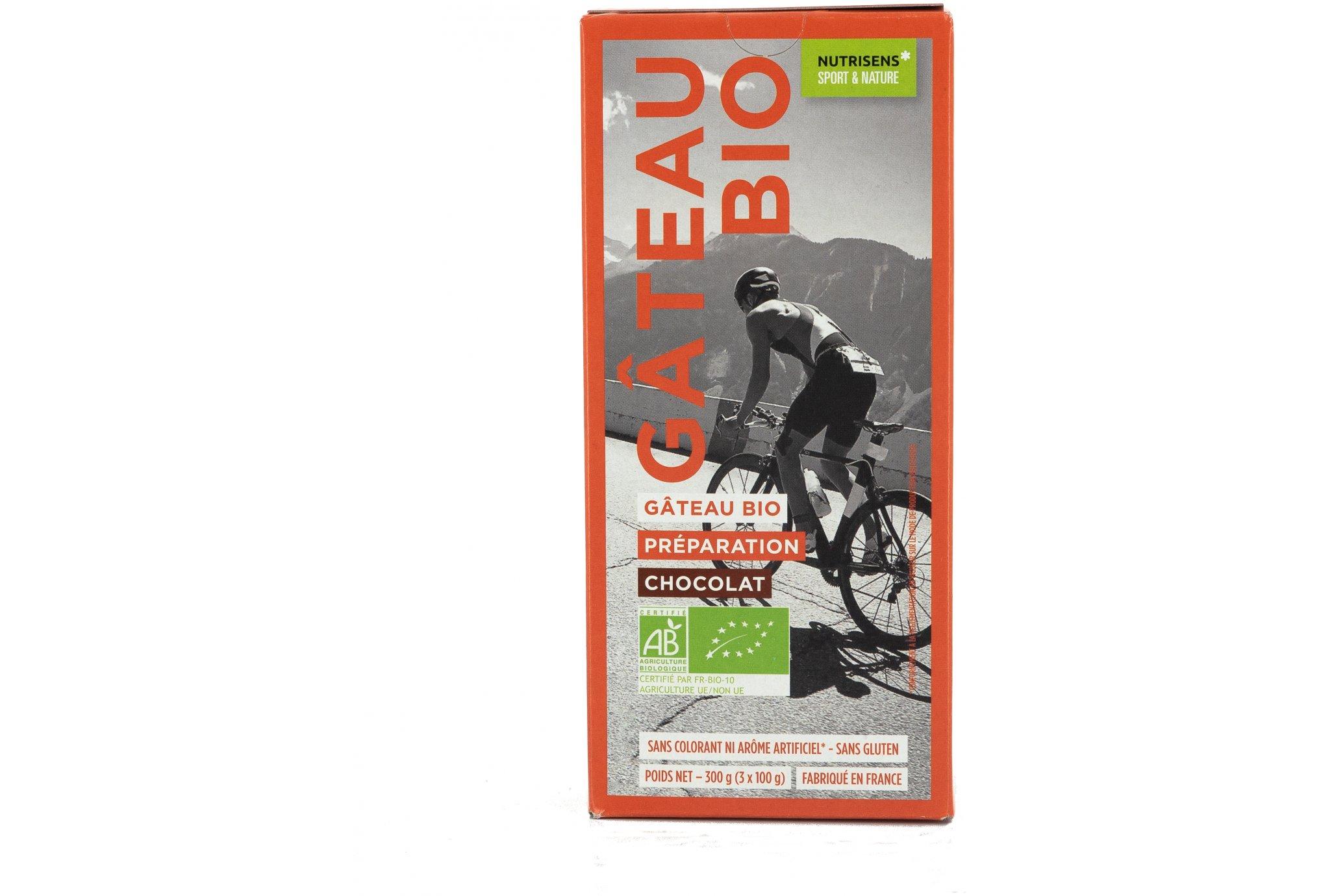 Nutrisens Sport Gâteau Bio Energy - Chocolat Diététique Préparation