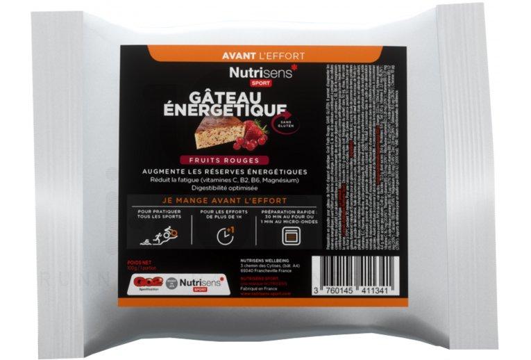 Nutrisens Sport Sachet Energétique - Fruits rouges