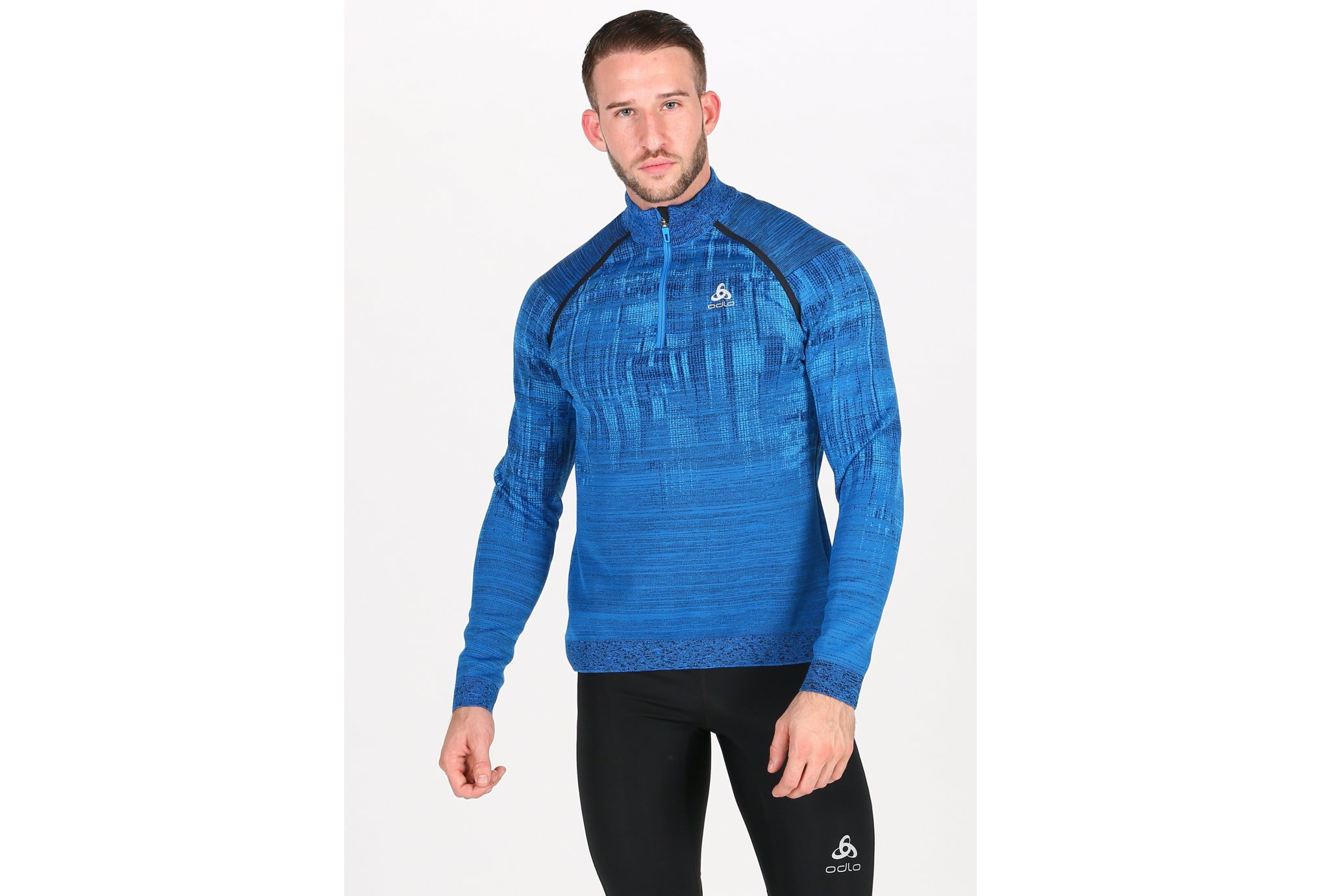 Odlo Blackcomb 1/2 Zip M vêtement running homme