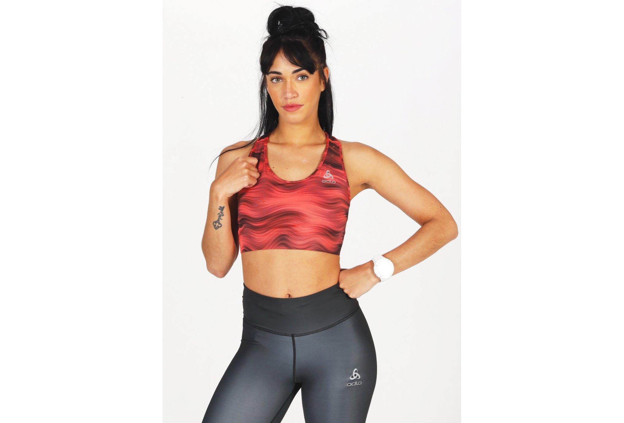 Odlo Essential Print vêtement running femme