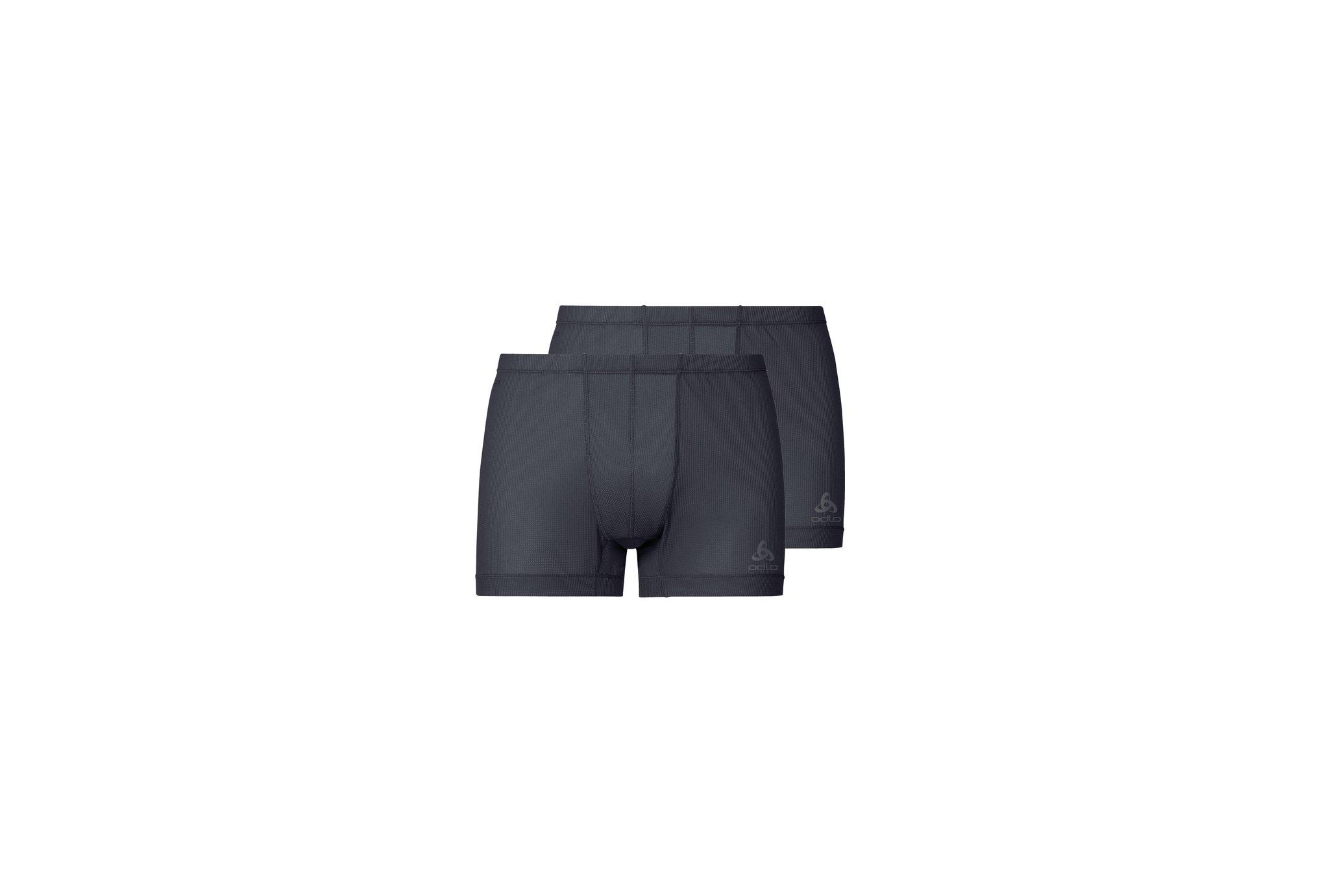 Odlo Lot de 2 boxers Active Cubic Light M vêtement running homme