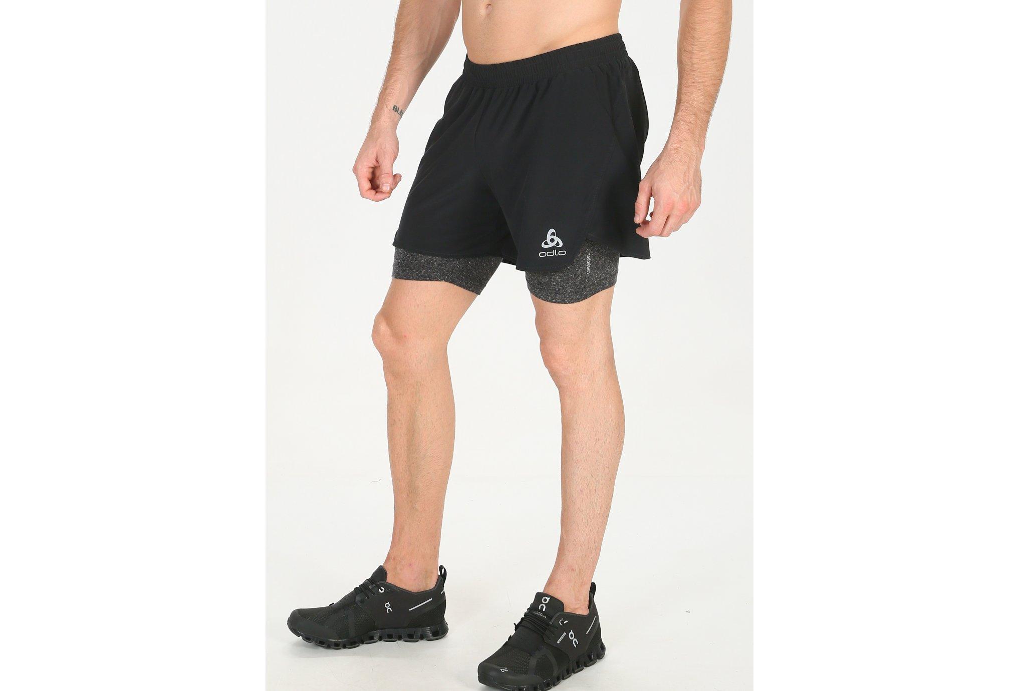 Odlo Millennium Linencool Pro 2 en 1 M vêtement running homme