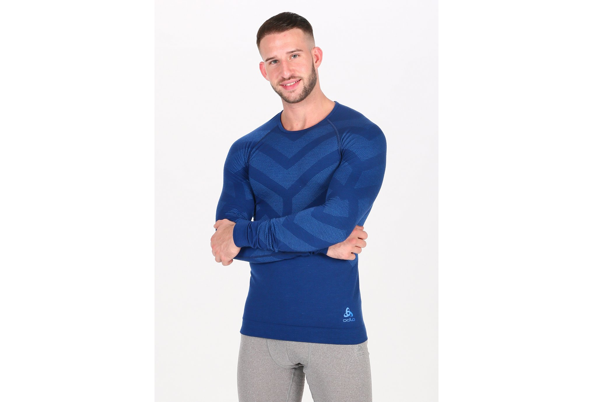 Odlo Natural + Kinship Warm M vêtement running homme