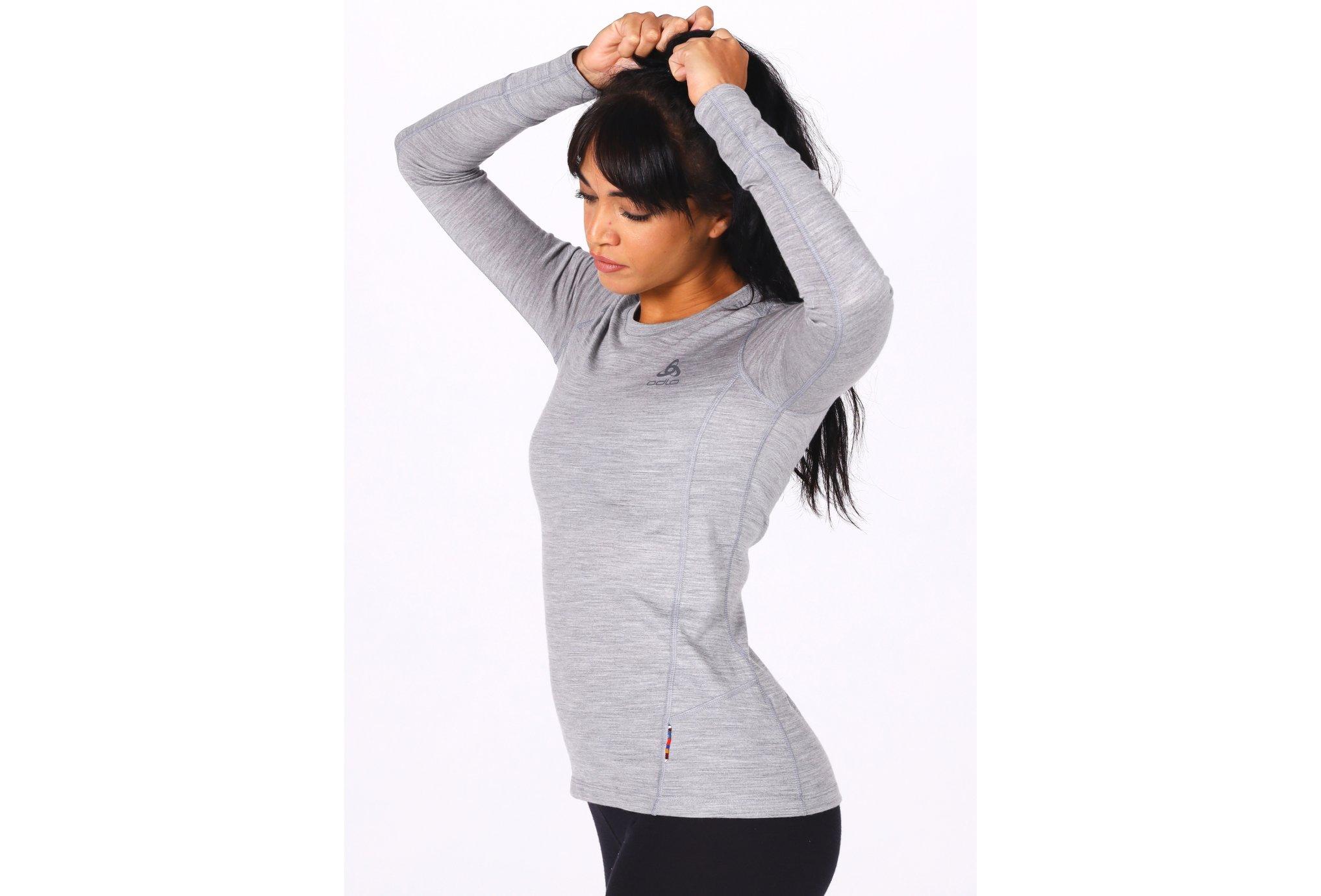 Odlo Natural 100% Merino W vêtement running femme