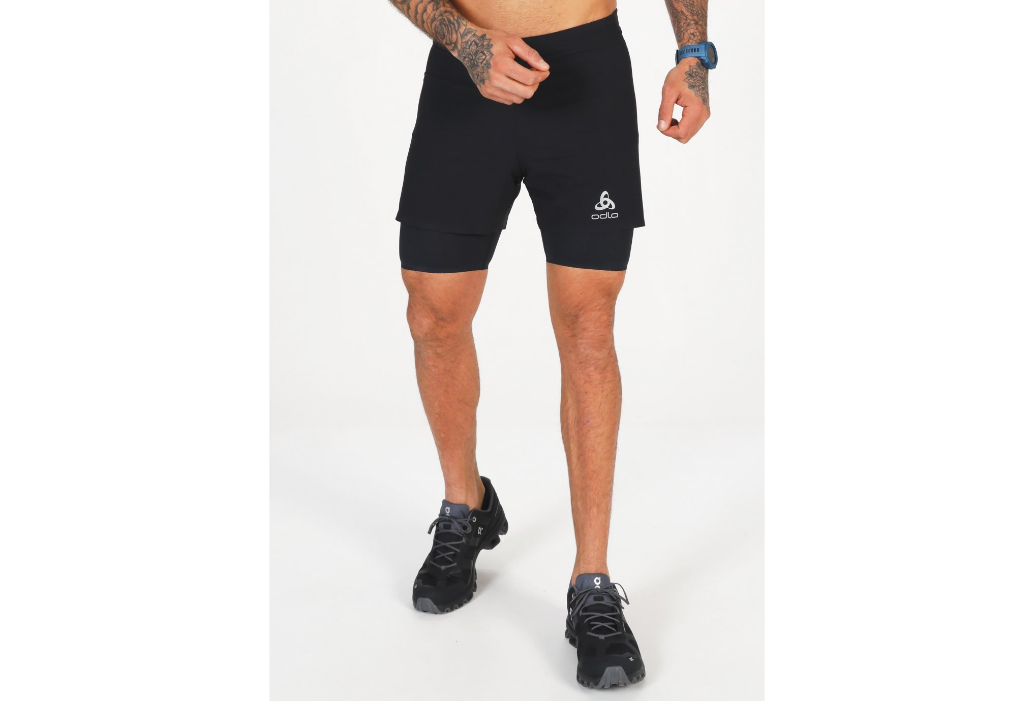 Odlo Zeroweight 2 en 1 M vêtement running homme