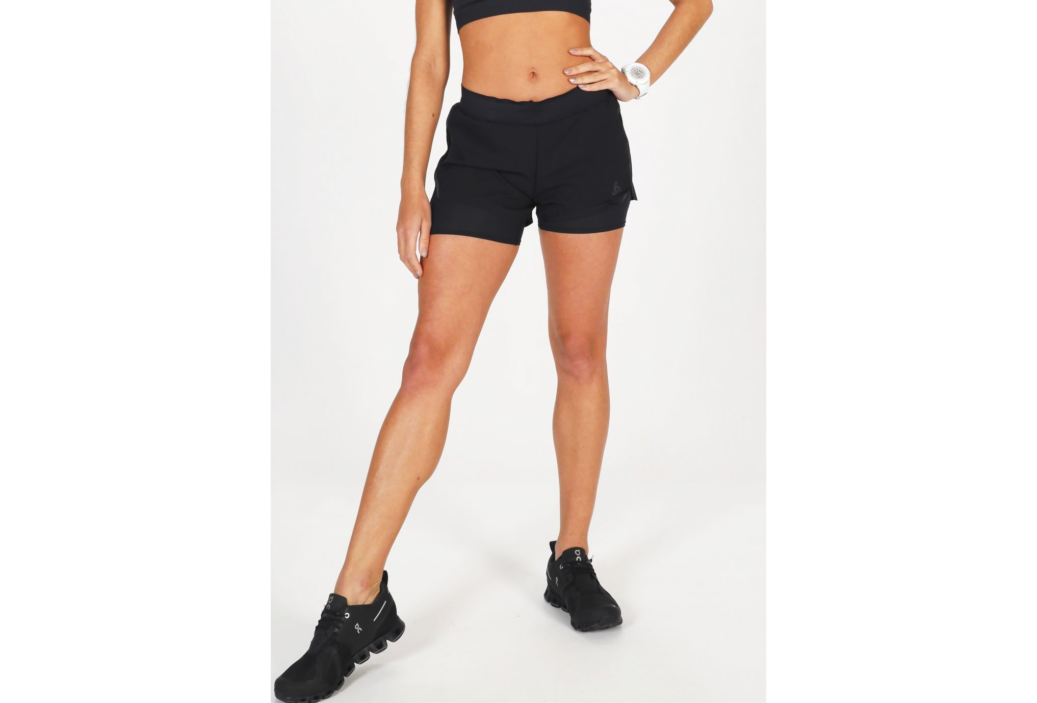Odlo Zeroweight Blackpack 2 en 1 W vêtement running femme