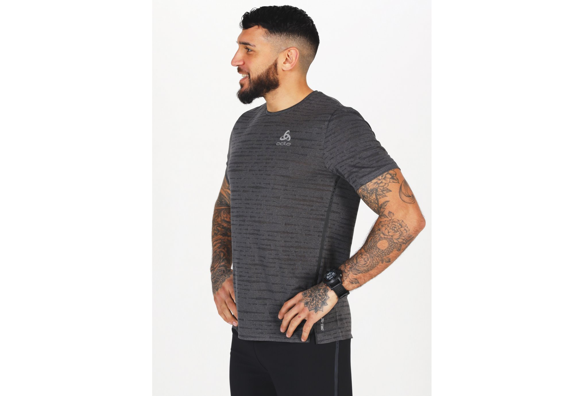 Odlo Zeroweight Engineered Chill-Tec M vêtement running homme