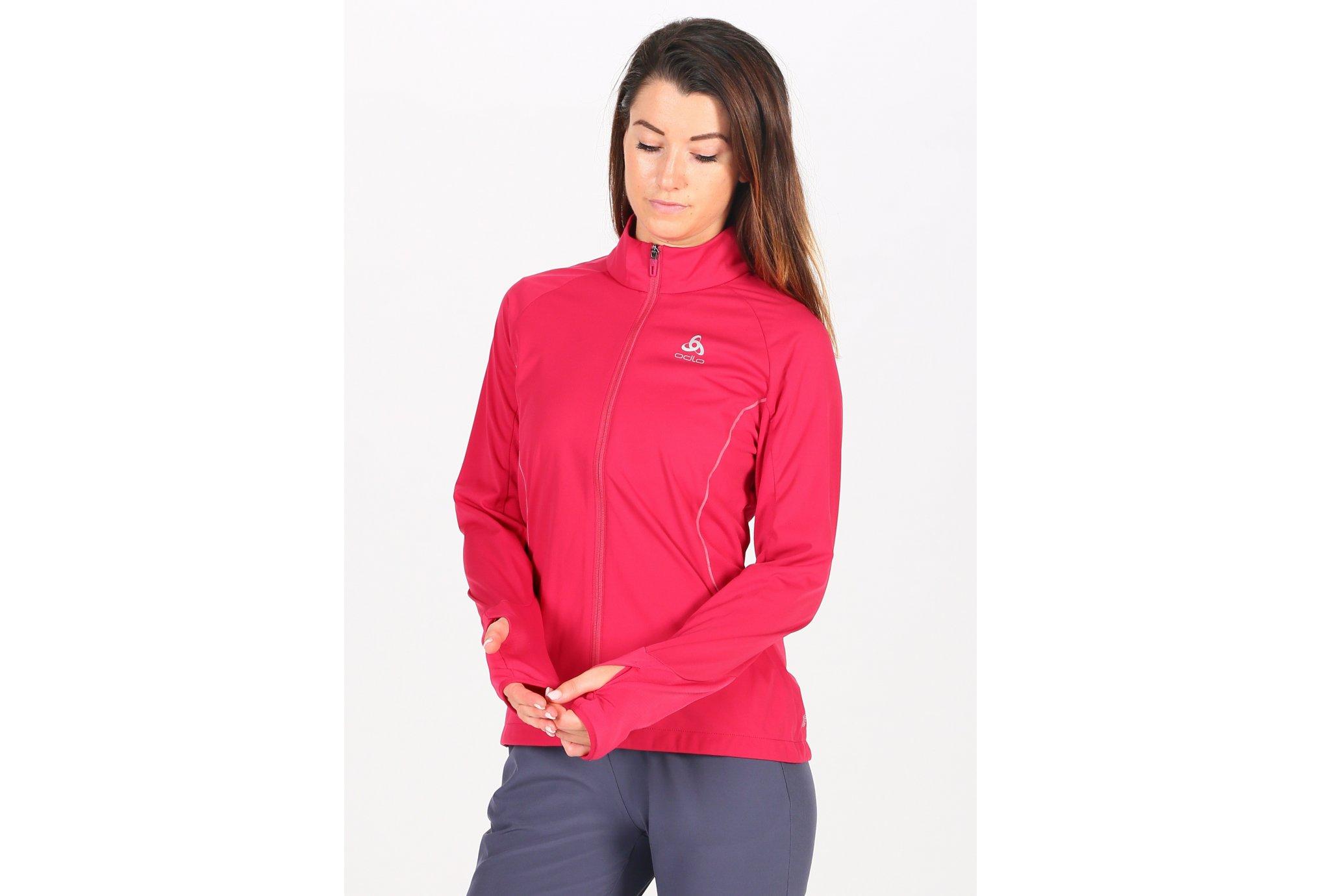 Odlo ZeroWeight Windproof Warm W vêtement running femme