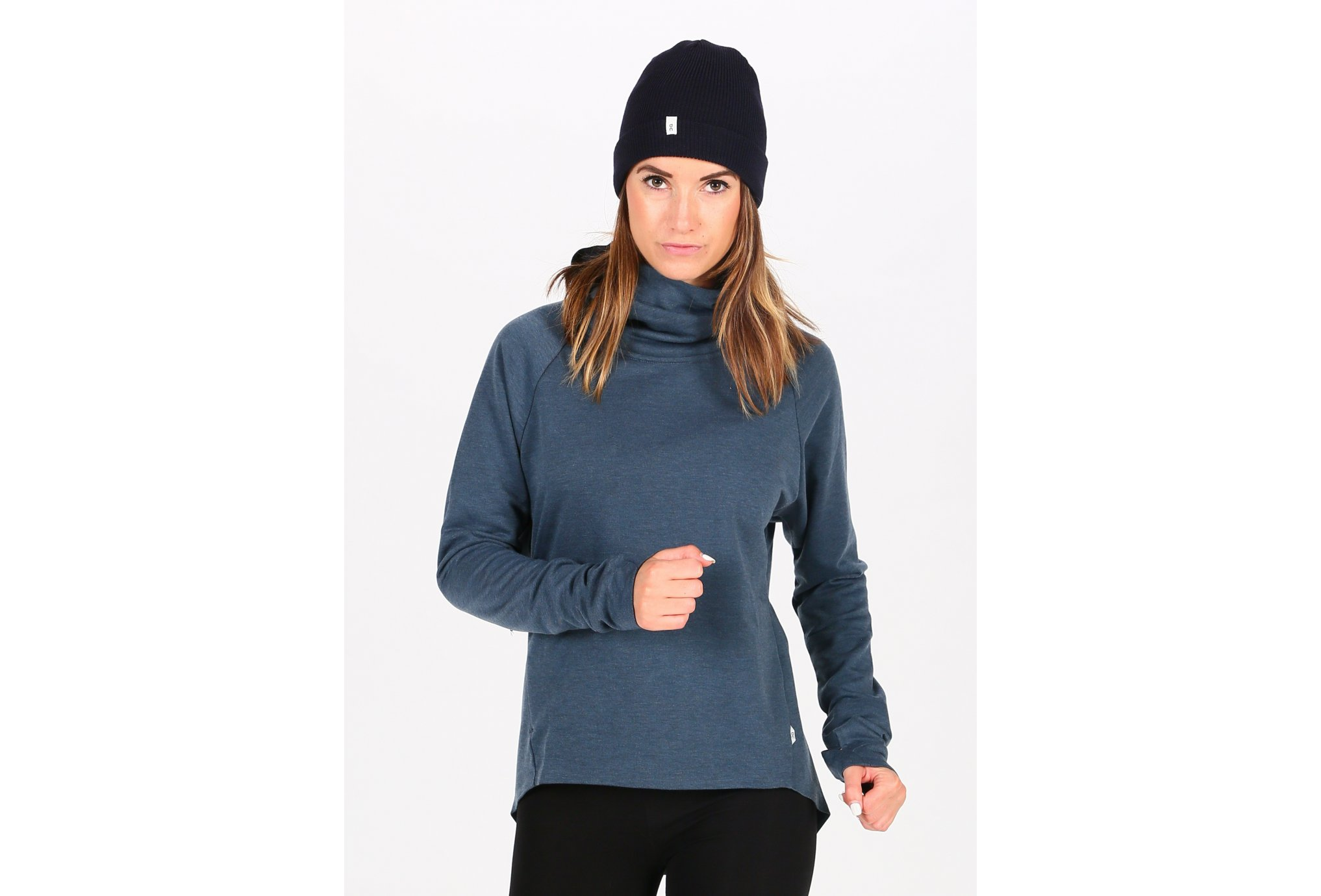 On-Running Hoodie W vêtement running femme