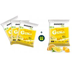 OVERSTIMS 3 Energy Gum.s Bio et 1 offert - Citron-Orange