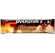 OVERSTIMS Barre Chocolatée - Chocolat blanc/cranberries