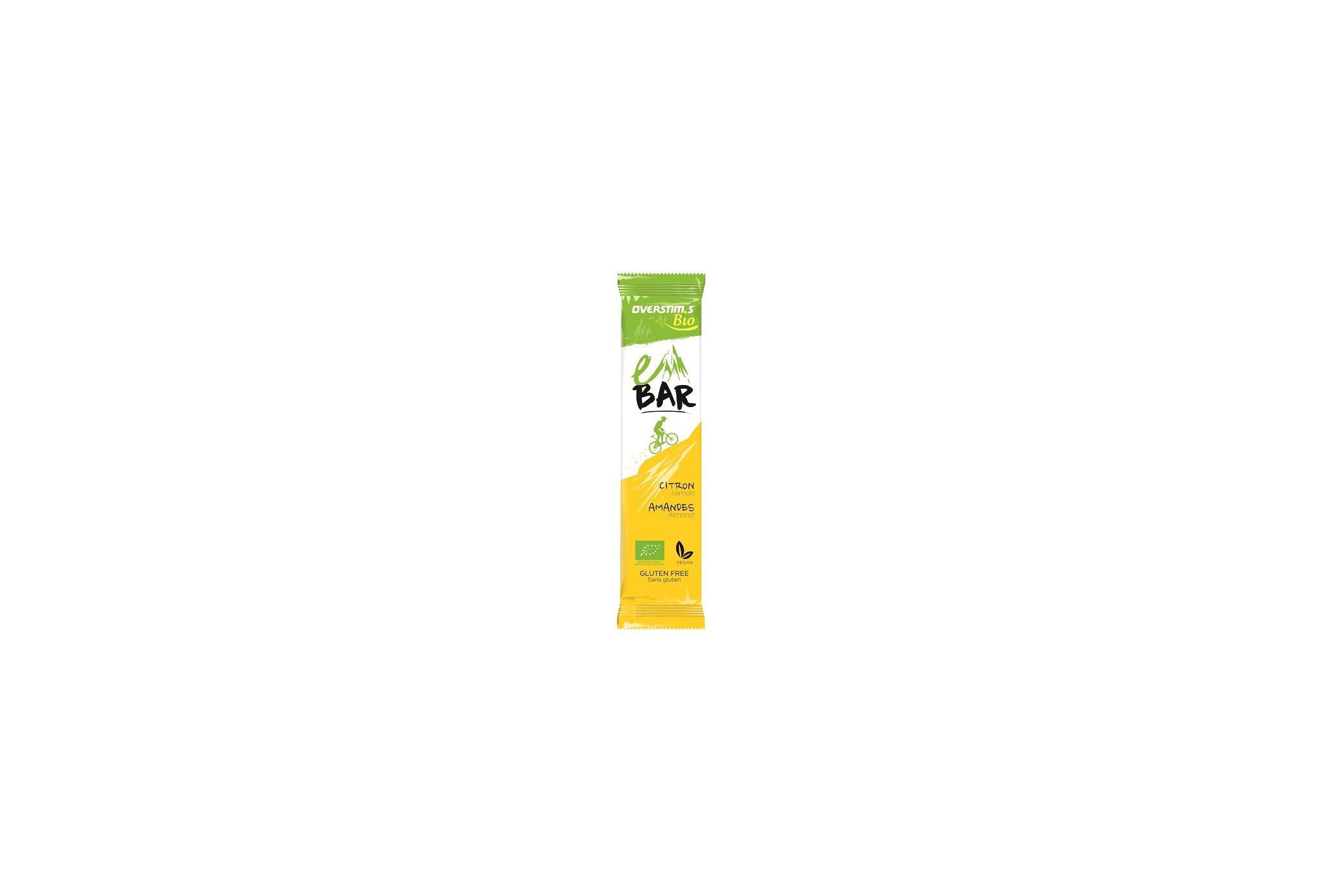 OVERSTIMS e-Bar Bio - Citron Diététique Barres