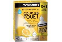 OVERSTIMS Étui Gels Energie Instantanée Coup de Fouet 3+1 - Citron