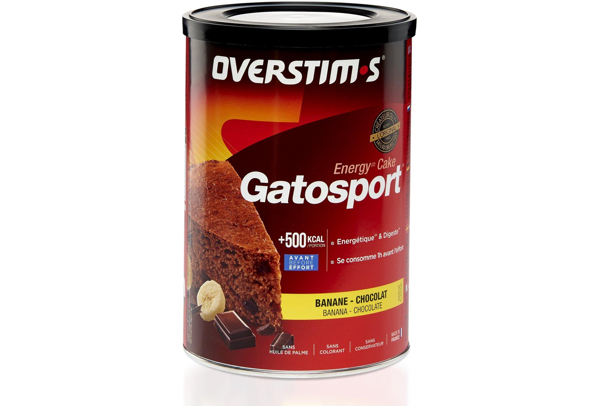OVERSTIMS Gatosport 400 g - Banane/chocolat Diététique Préparation
