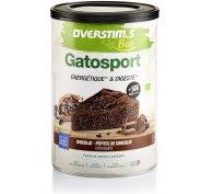 OVERSTIMS Gatosport Bio 400 g - Chocolat et pépites de chocolat