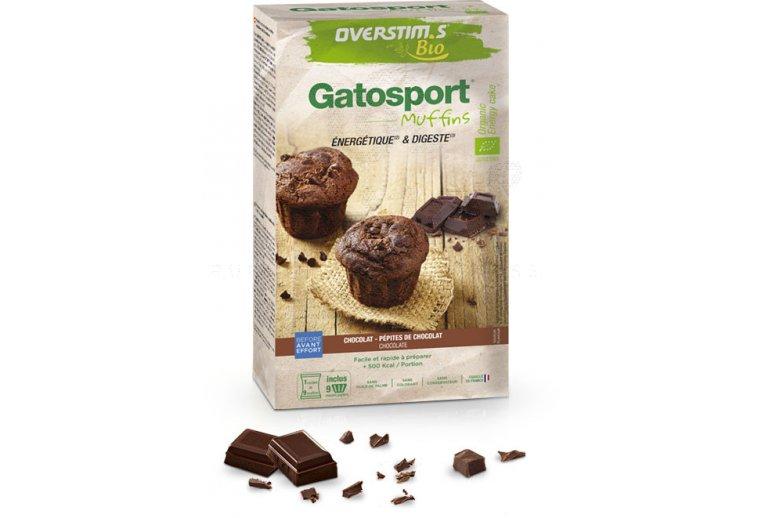 OVERSTIMS Gatosport Muffins Bio 400 g - Chocolat et pépites de chocolat