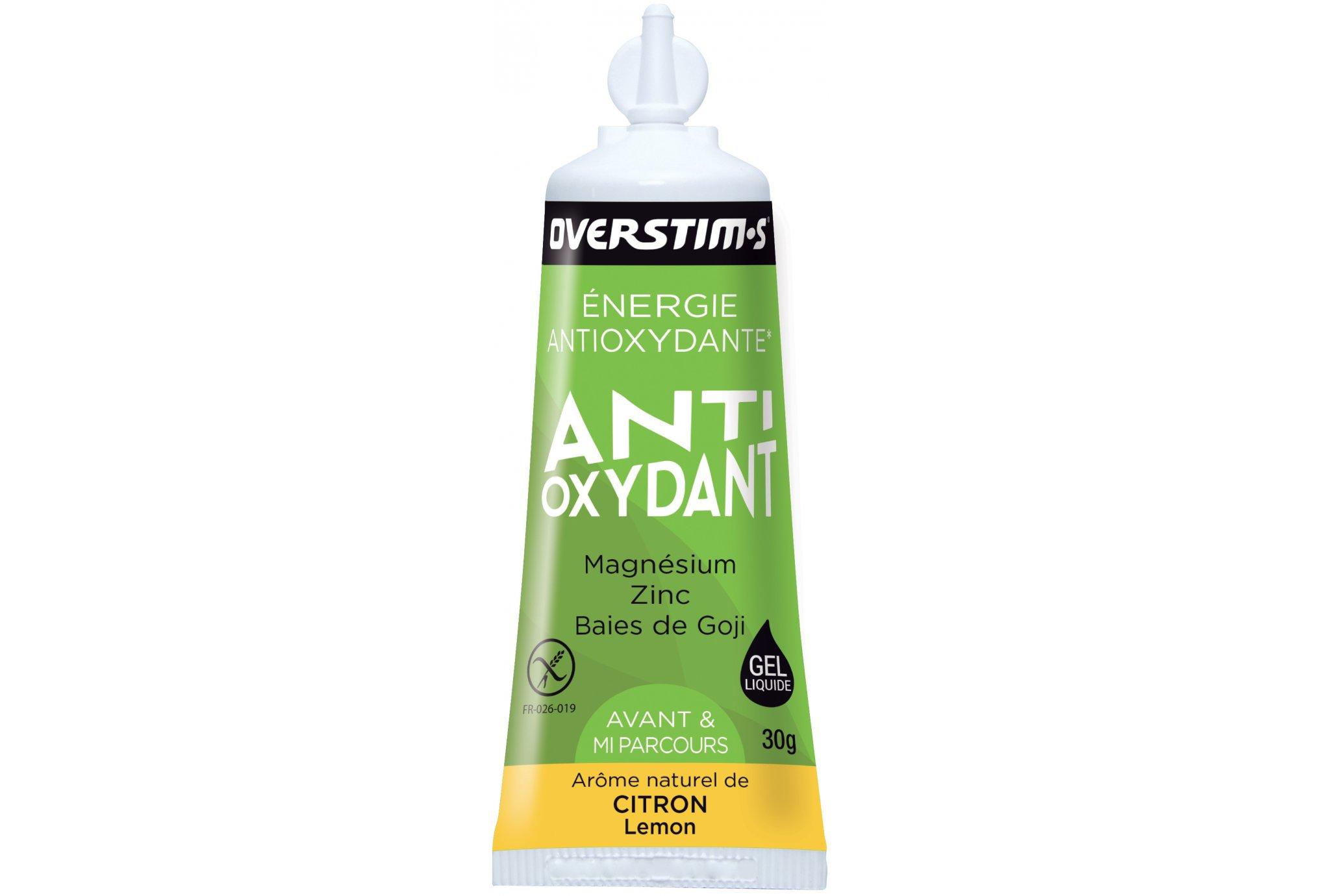 OVERSTIMS Gel Antioxydant 3 - Limón Diététique Gels