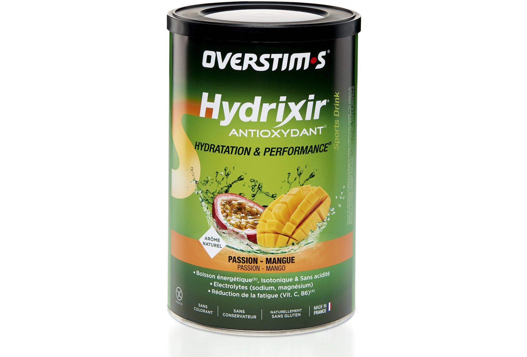 OVERSTIMS Hydrixir 600g - Passion mangue Diététique Boissons