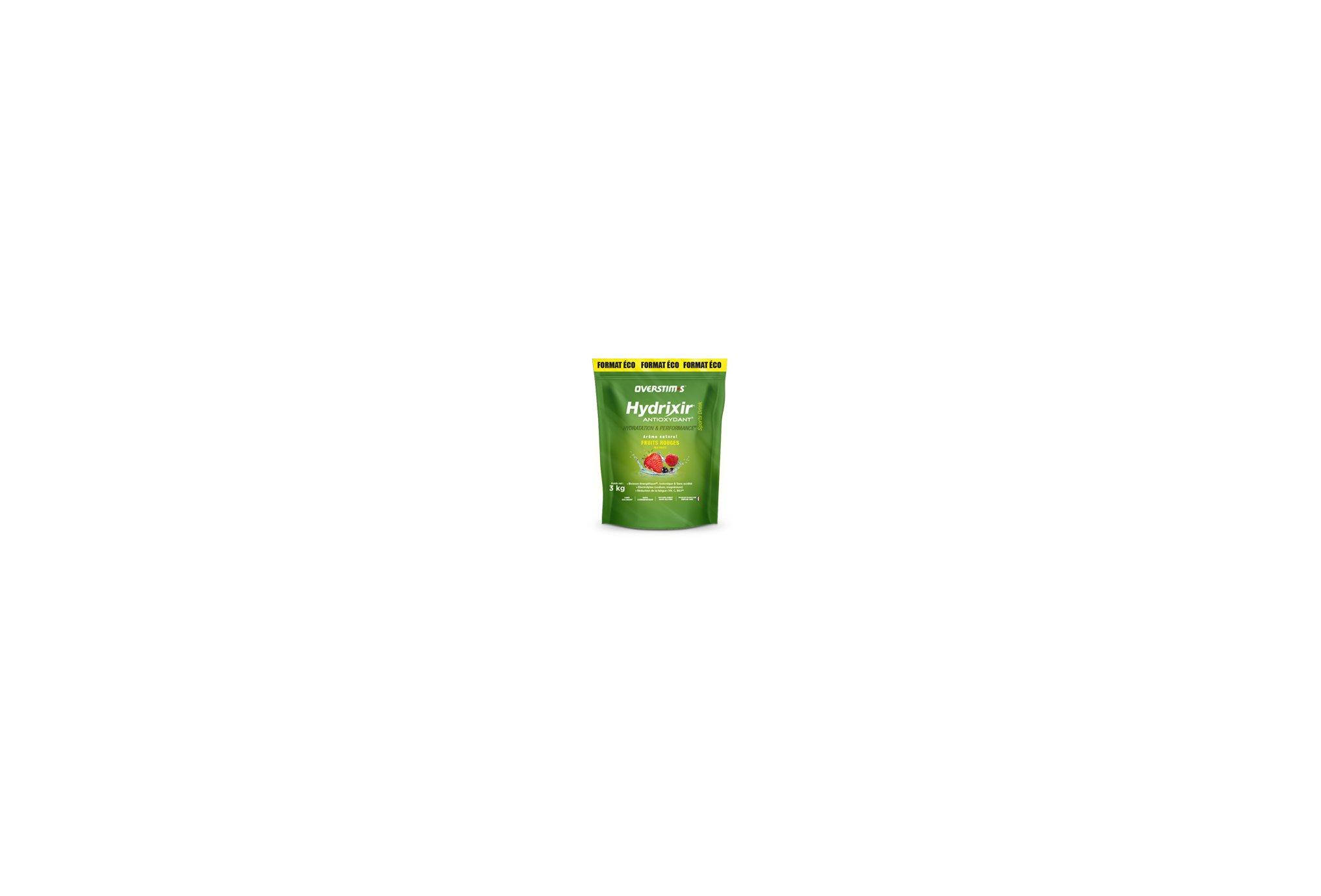 OVERSTIMS Hydrixir 3 kg - Fruits rouges Diététique Boissons