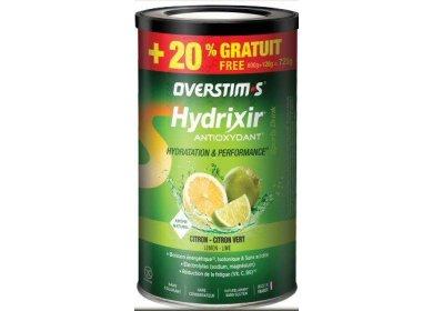OVERSTIMS Hydrixir 600 g + 20% gratuit - Citron/citron vert