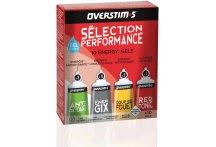 OVERSTIMS Pack Énergétique Sélection Performance Liquide 10 Gels