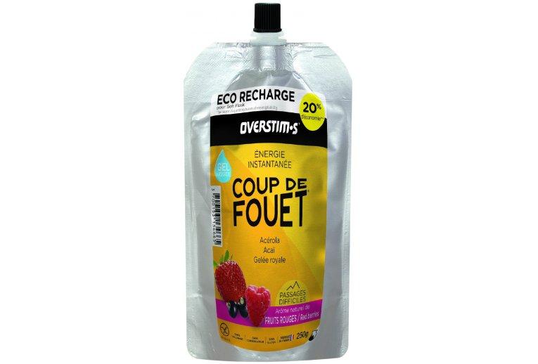 OVERSTIMS Recharge Éco Gel Énergie instantanée Coup de fouet 250 g - Fruits rouges