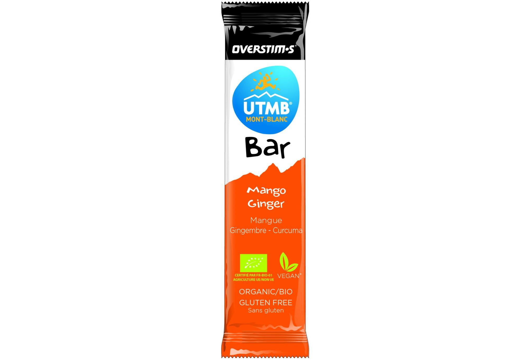 OVERSTIMS UTMB Bar - Mango/Jengibre/Cúrcuma Diététique Barres