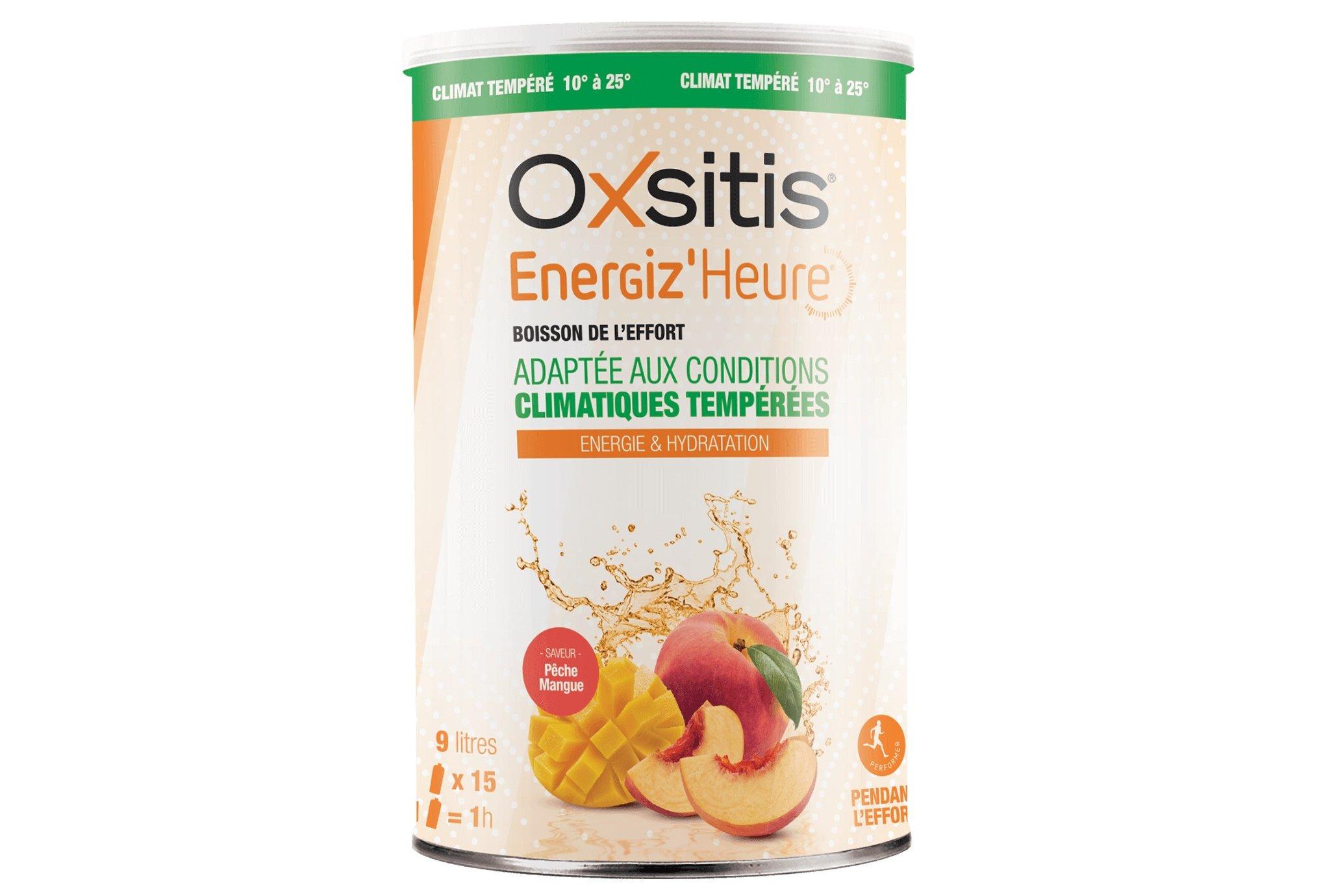 Oxsitis Boisson Energiz'Heure Climat Tempéré - Pêche/Mangue Diététique Boissons