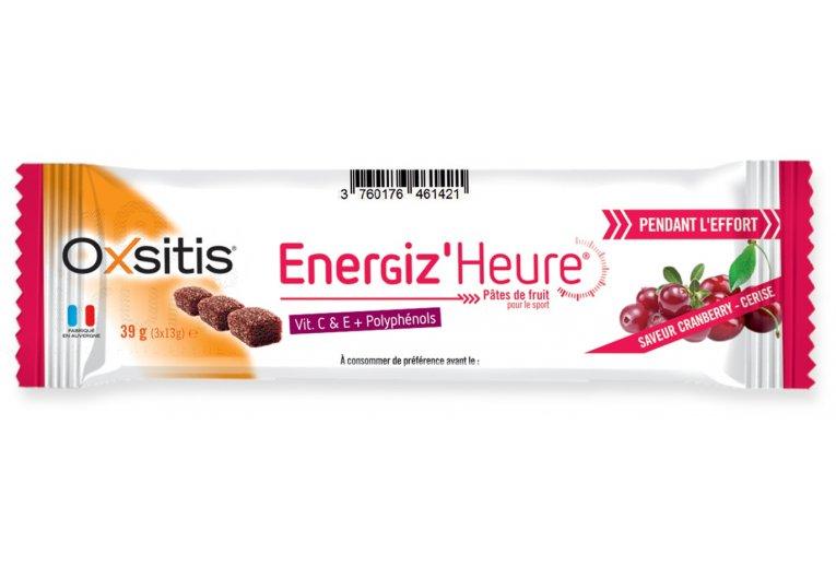 Oxsitis Pâte de Fruits Energiz'Heure - Cranberry/Griotte