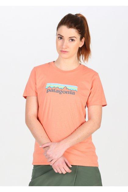 Patagonia camiseta manga corta Logo Organic Cotton Crew