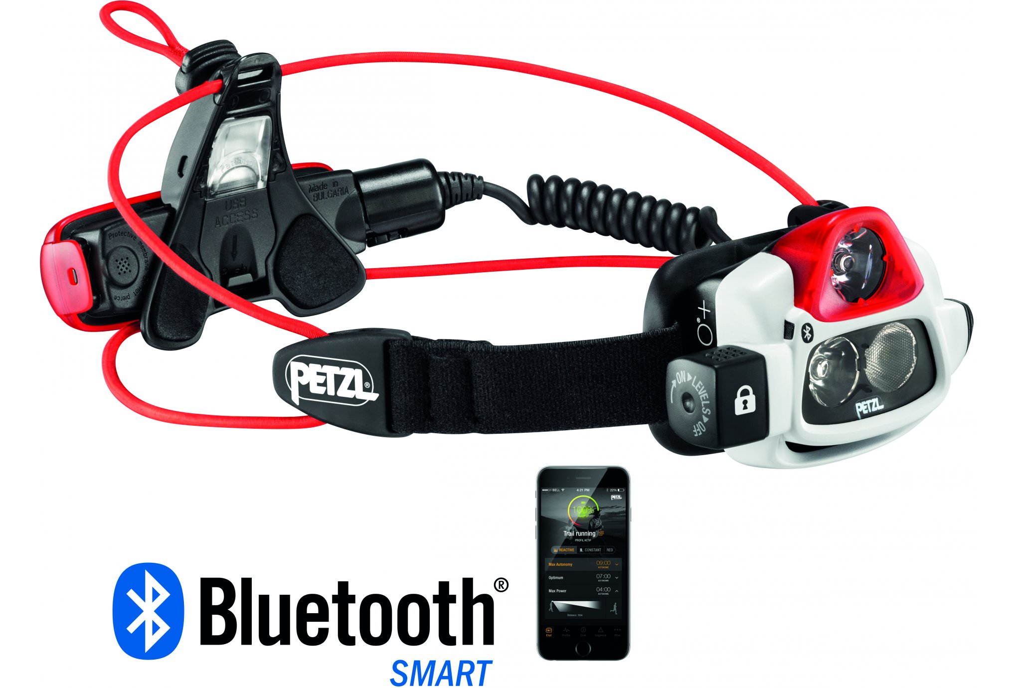 Petzl NAO+ Bluetooth - 750 lumens Lampe frontale / éclairage