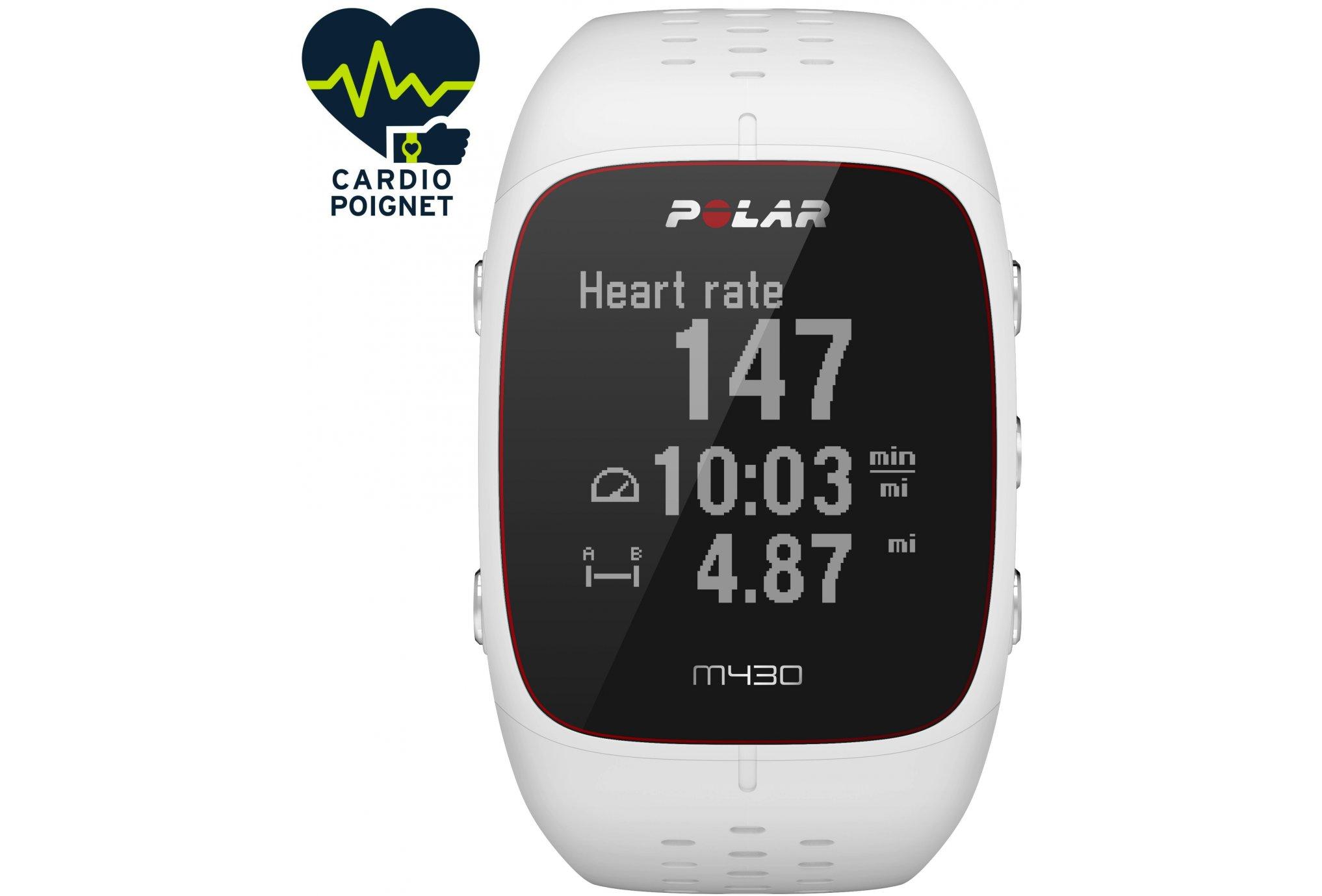 Polar Reloj Cardio GPS M430-S Cardio-Gps