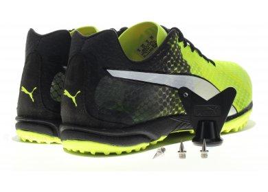 puma chaussure jaune fluo