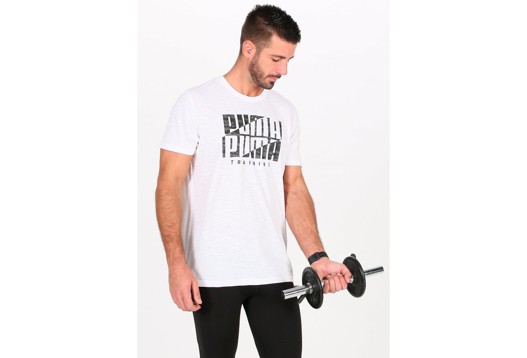 Puma Graphic Logo M vêtement running homme