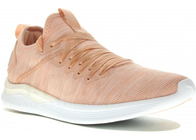 80b3c997168 Puma Ignite Flash Evoknit Satin EP W femme Rose pas cher