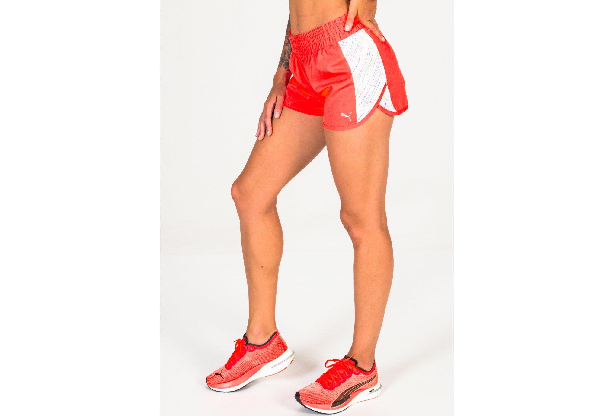 Puma Run Graphic Woven W vêtement running femme