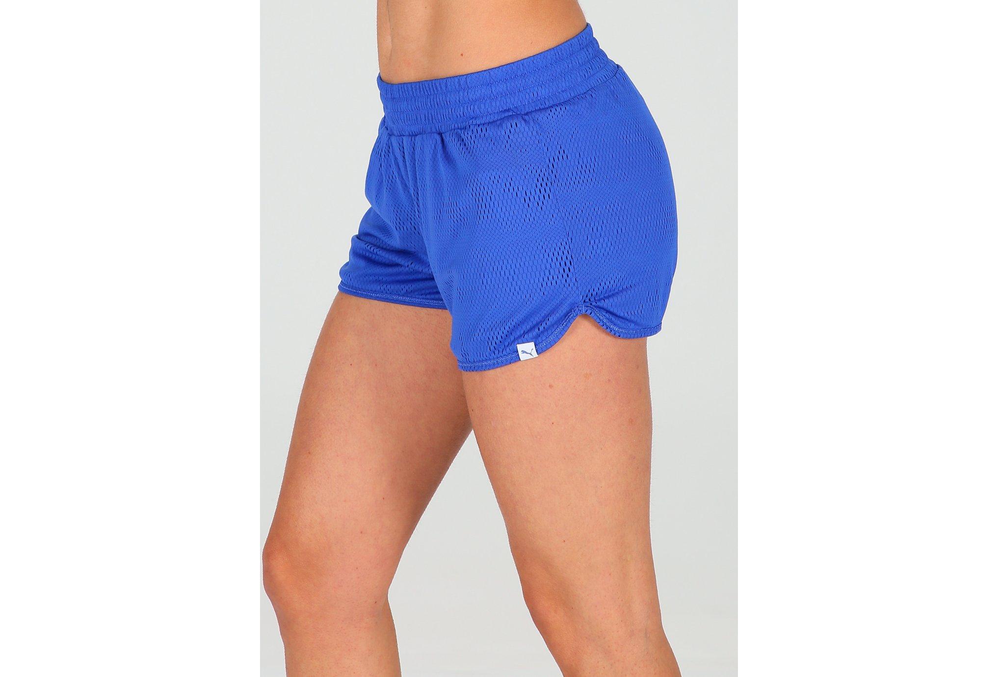 Puma Short Mesh It Up W Diététique Vêtements femme